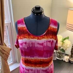 NY Collection Dresses - NY Collection Cold Shoulder Maxi Dress NWT Size 1X
